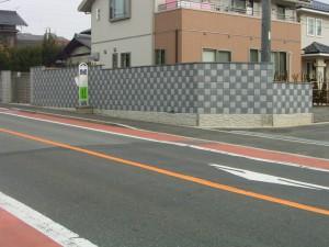 松本市M様ブロック積工事