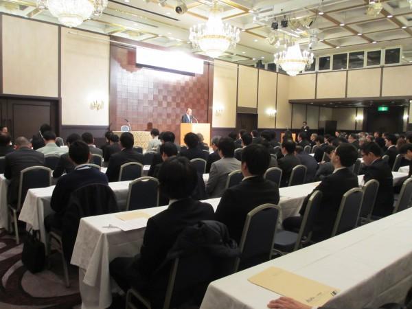 H30アスピア災害共済会 新年会を行いました。