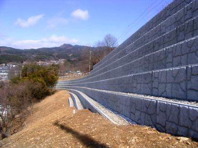 松本市取出1号線道路改良工事