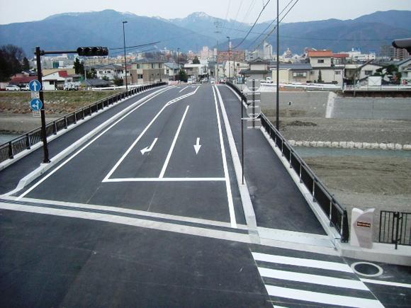 奈良井橋上部工工事