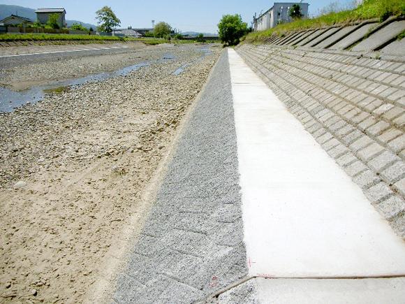 田川河川改修工事