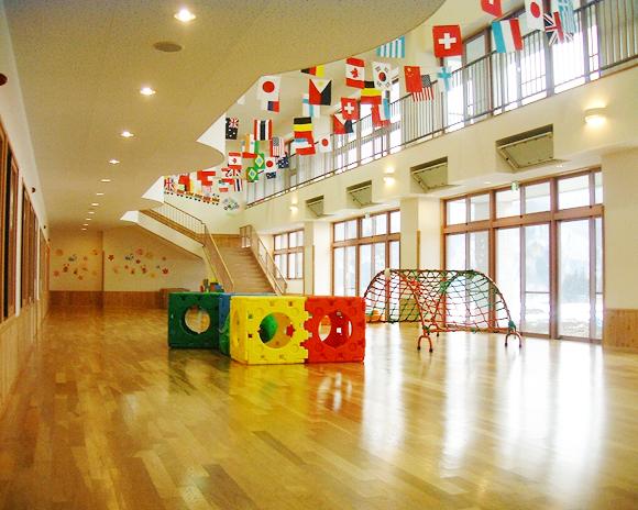 白馬幼稚園(内観)