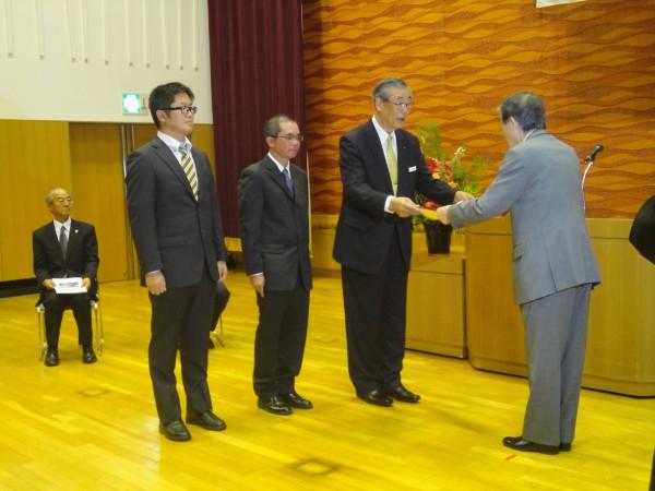 「平成24年度松本市優良建設工事表彰」を受けました