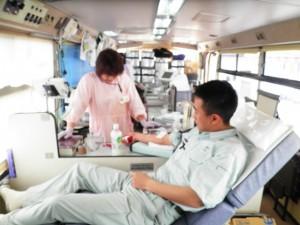 社会貢献事業 献血の実施