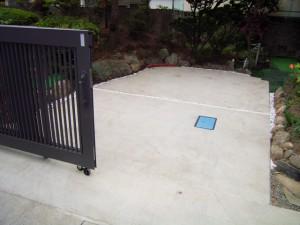 松本市K様駐車場整備工事