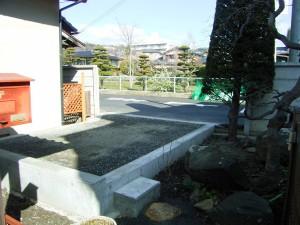 松本市N様駐車場整備工事
