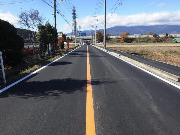市道7553号線舗装補修工事